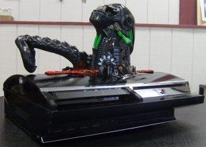 Alien Chestburster PS3 Case Mod