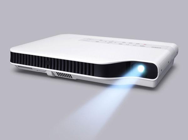 Casio Green Slim Projector