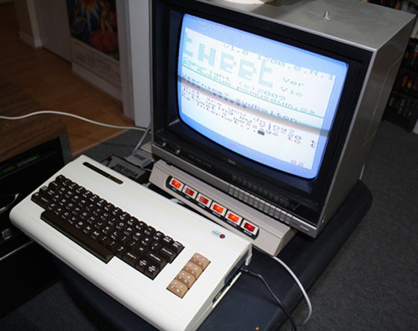 Commodore VIC-20 Used For Twitter