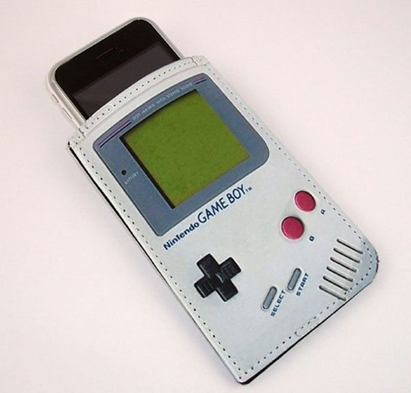 Cool Game Boy iPhone Case