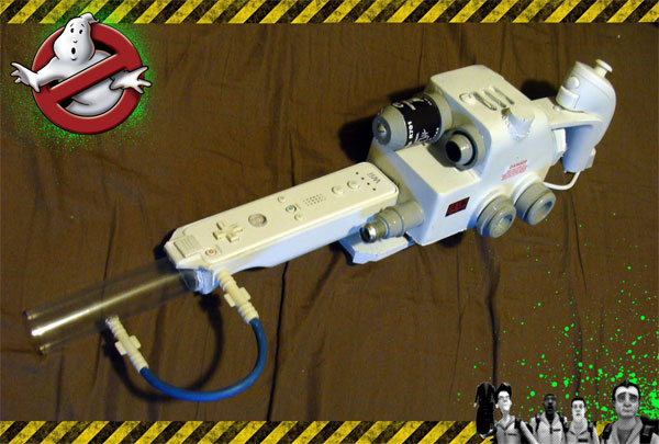 Custom Nintendo Wii Ghostbusters Proton Pack