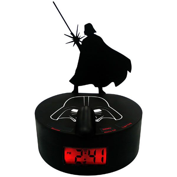 Darth Vader Shadow Alarm Clock