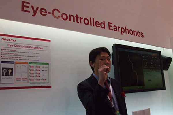 Eye Controlled Earphones