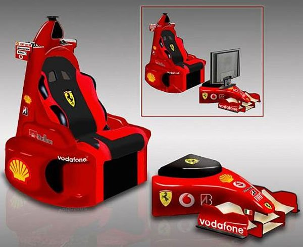 Ferrari F1 Lounge Chair