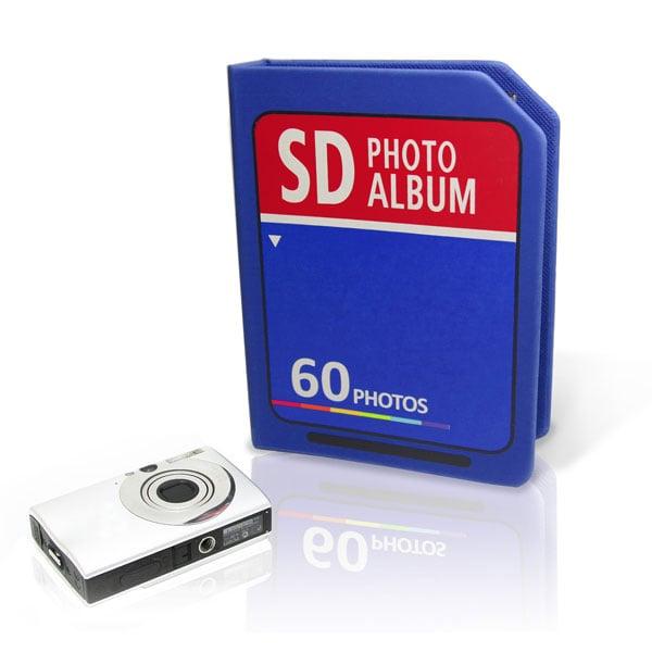 Giant SD Card Photo Album Holds Just 60 Photos