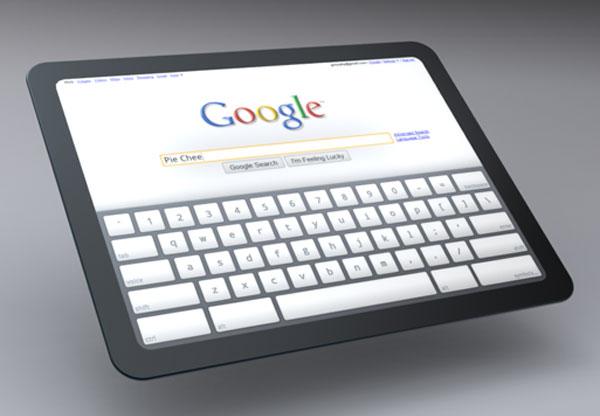 Google Chrome OS Tablet