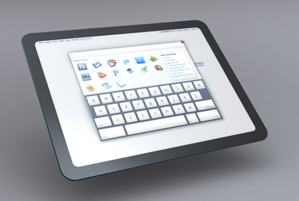 Google Chrome OS Tablet