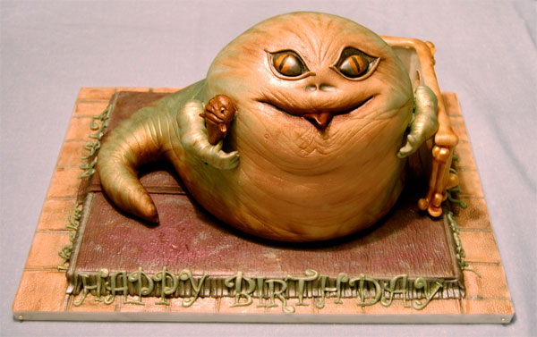 Jabba The Hut Birthday Cake