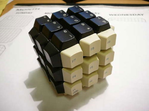 The Keyboard Key Rubik's Cube