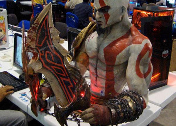Kratos God Of War PC Case Mod