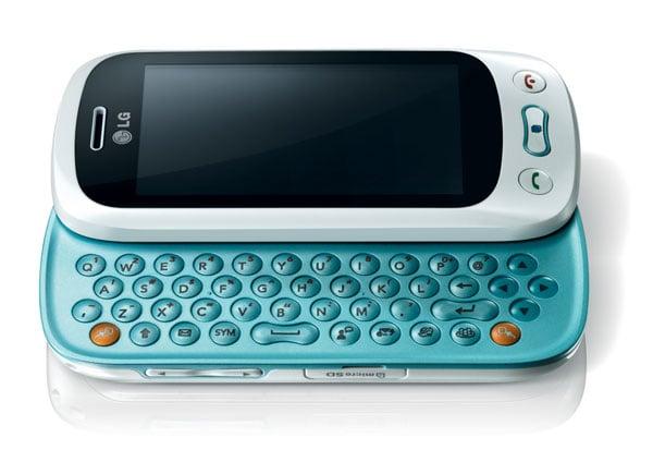 LG GT350 Slider Phone Announced