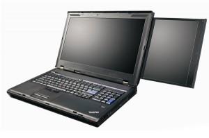Lenovo ThinkPad W701ds Dual Screen Laptop