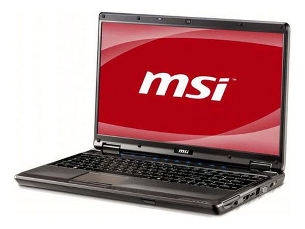 MSI GE600 Gaming Notebook