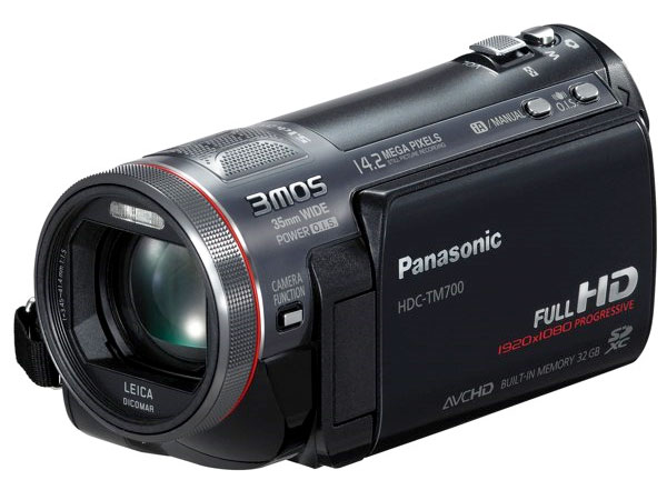 Panasonic HDC-HS700 And HDC-TM700 1080p Camcorders