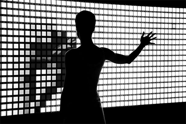 The Philips OLED Mirrorwall