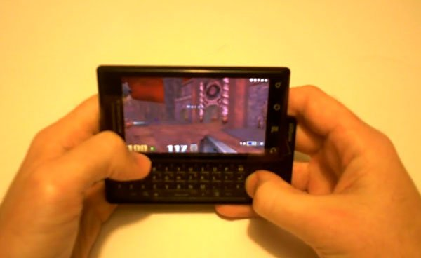 Quake 3 Ported To Motorola Droid