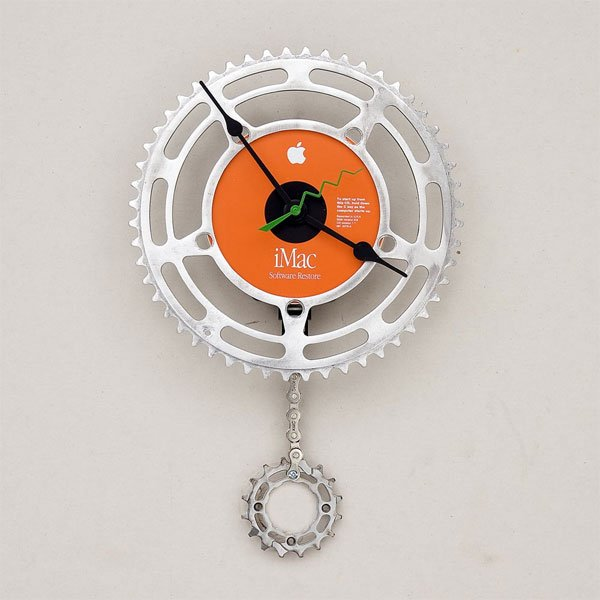 Recycled iMac Restore Disk Clock