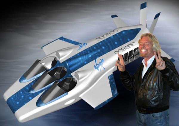 Richard Branson's Underwater Plane