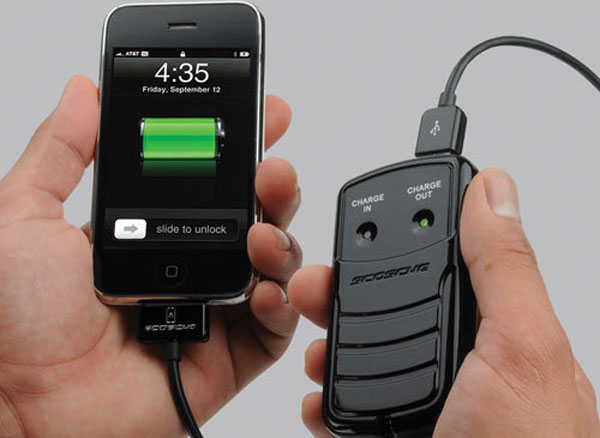 Scosche solBAT II Solar USB Gadget Charger