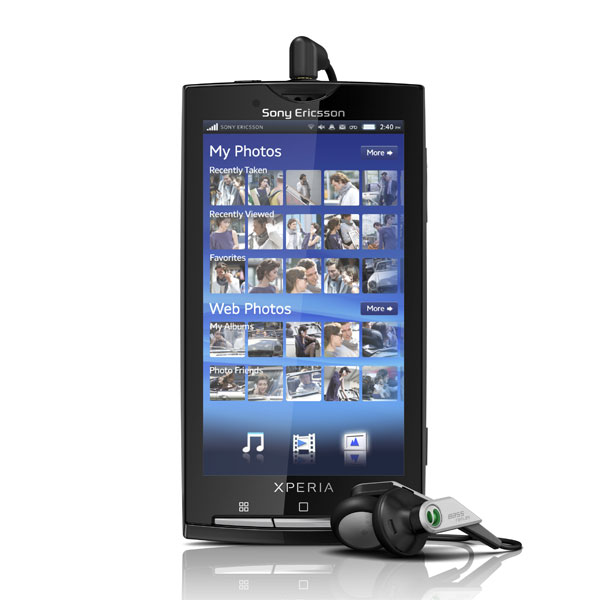 Sony Ericsson Xperia X10 Coming To The UK In March
