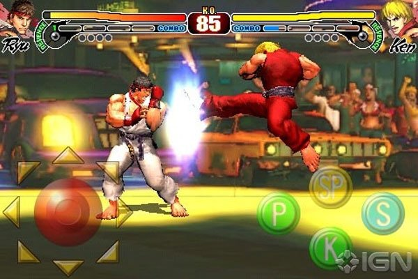 Streetfighter IV iPhone App