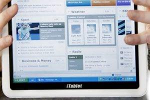 The X2 iTablet Windows 7 Tablet