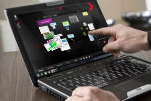 Toshiba Satellite U500-1EX Notebook Features Multi-Touch Display