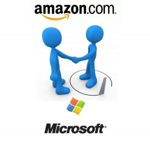 Microsoft & Amazon Sign Patent Deal