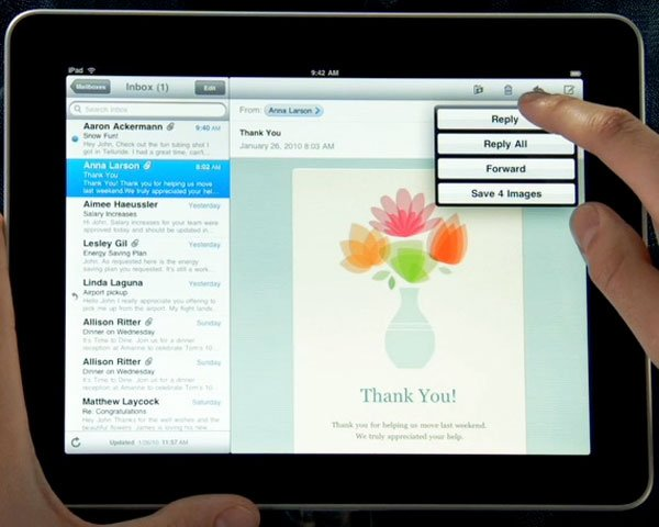 A Closer Look At Apple's iPad UI
