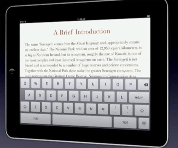 A Closer Look At Apple's iPad UI