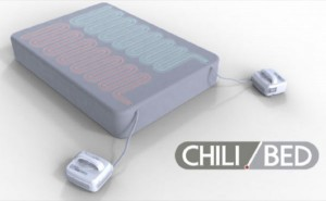 Chili Bed Allows Temperature Adjustment