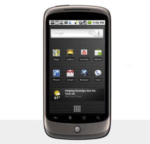Google Nexus One – Concept And  Design Video