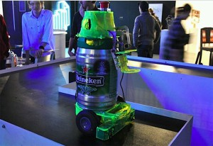 Heineken Bot – The Beer Serving Robot