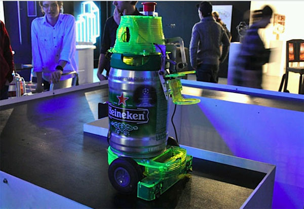 Heineken Bot - The Beer Serving Robot