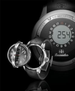 Hercules Golf Master Reversible Rangfinder Watch