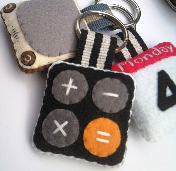 iPhone Icon Keychains