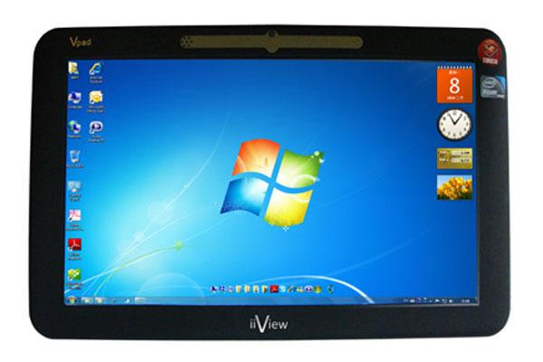 iiView Vpad Windows 7 Tablet