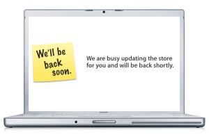Apple Store Offline - New MacBook Pro's Coming Today?