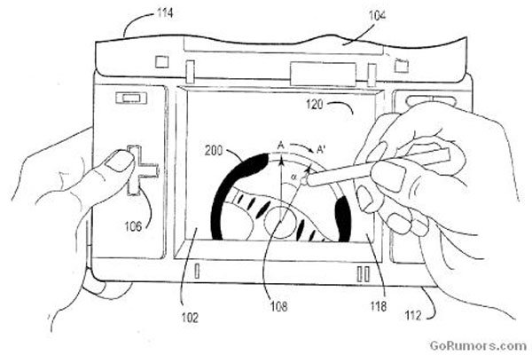 Nintendo Files DSI Patent For Toucscreen Steering Wheel