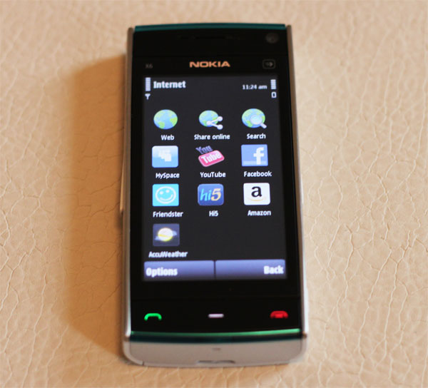 Nokia X6 Comes With Music Mobile Phone - Review