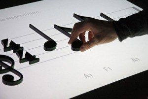 Noteput Interactive Music Table
