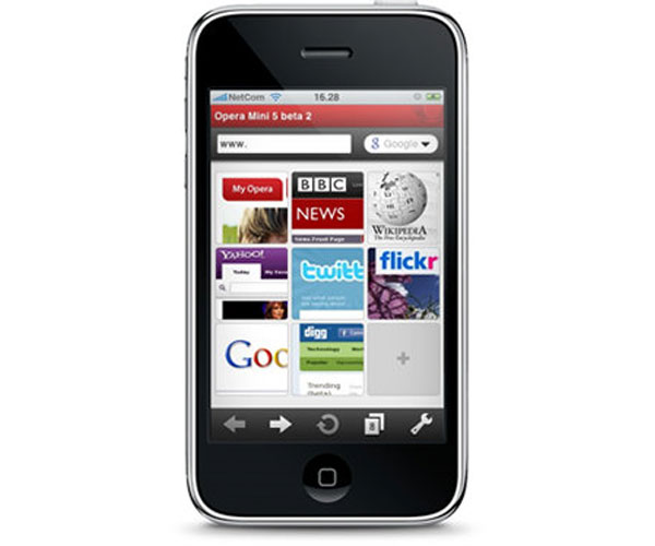 Opera Mini Browser Coming To The iPhone