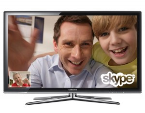 Samung Launching Skype Enabled HDTVs