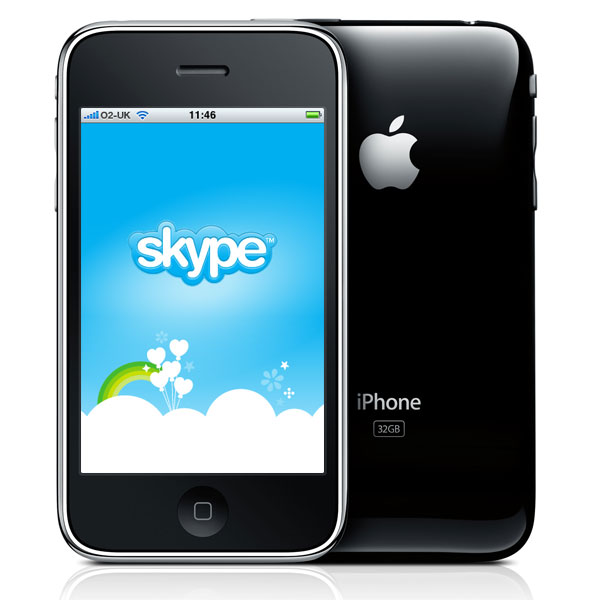 Skype VoIP Calls Over 3G Coming To The iPhone