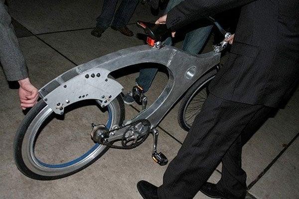 The Spokeless Bicycle Wheel