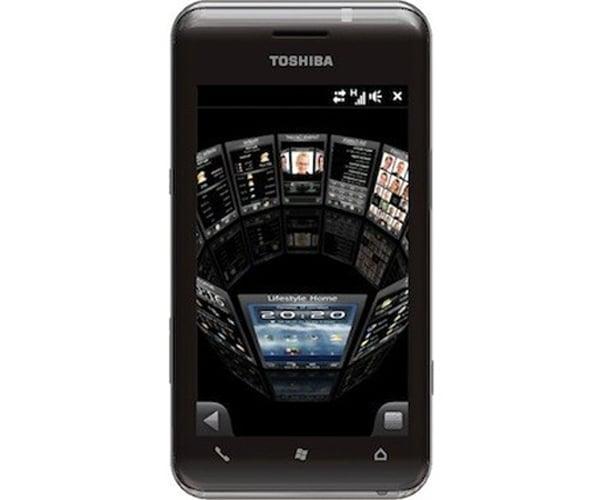 Toshiba TG02 And K01 Windows Mobile 6.5 Smatphones