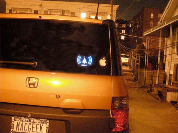 The WiFi Detecting Bumper Sticker