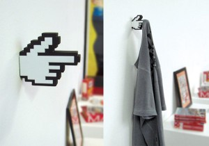 The 8-Bit Hanger Adds Some 8-Bit Style To Your Home