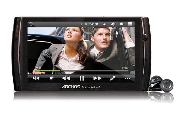 Archos 7 And Archos 8 Home Tablets