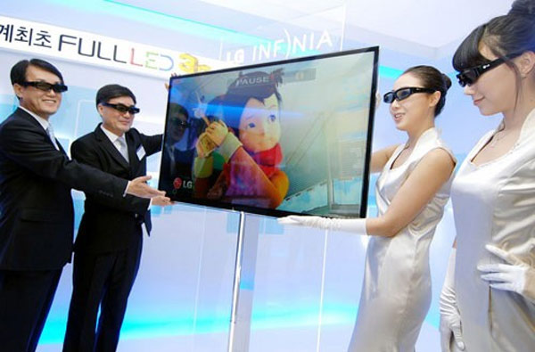 LG Announces Worlds First Full LED 3D HDTV - LG LX9500